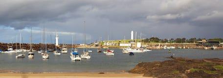 Bassin de Belmore, port de Wollongong Photographie stock libre de droits