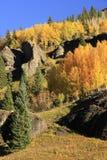 Bassin de garçon de yankee, région sauvage de Sneffels de bâti, le Colorado Photos libres de droits