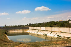 Bassin de l'eau Photographie stock