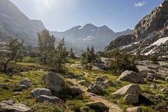 Bassin de palissade, parc national des Rois Canyon, la Californie Images stock