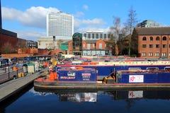 Bassin de rue de gaz, Birmingham Photographie stock