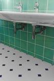 Bassin de salle de bains images stock