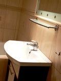 bassin de salle de bains Photos libres de droits
