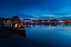 Bassin de Stourport Photo libre de droits