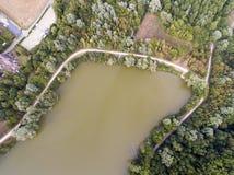 Bassin de Trevoix, Ollainville Fotografie Stock Libere da Diritti