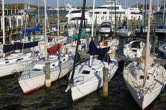 Bassin de yacht photographie stock