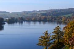 Bassin di galleggiamento a Guenne in Germania Fotografie Stock