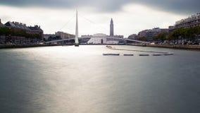 Bassin du commerce. Du Havre royalty free stock image