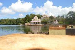 Bassin - Ganga Talao - Mauricio magníficos Fotografía de archivo libre de regalías