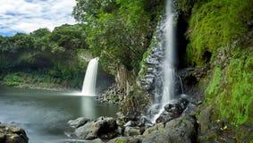 bassin la paix瀑布 库存图片