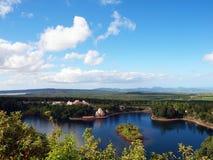 Bassin magnífico, Isla Mauricio Imagen de archivo libre de regalías