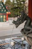 bassin pour la purification spirituelle dans le temple de Sensoji, Tokyo photo libre de droits