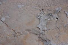 Bassin supérieur de geyser - stationnement national de Yellowstone Images libres de droits