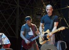 Bassist & Guitarist Stock Images
