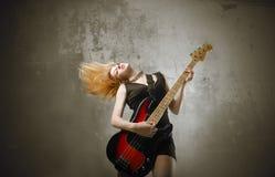 Bassista Immagini Stock Libere da Diritti