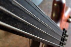 Basslines III Abstract Elektrisch Bass Guitar Stock Foto