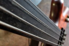Basslines III Bass Guitar bonde abstrato foto de stock