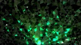 Basso poli Crystal Background illustrazione vettoriale