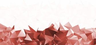 Basso poli fondo moderno triangolare astratto Fotografie Stock