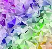 Basso poli fondo moderno triangolare astratto Fotografia Stock Libera da Diritti