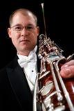 bassoon καυκάσιο αρσενικό εκμ& Στοκ εικόνες με δικαίωμα ελεύθερης χρήσης