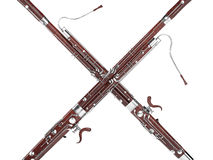 bassoon rendu 3d Images stock