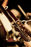 Bassoons in the orchestra. Closeup Royalty Free Stock Images