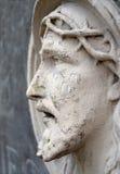 Bassorilievo di Jesus Face Fotografie Stock Libere da Diritti