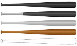 Bastão de beisebol Imagens de Stock Royalty Free