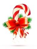 Bastão de doces do Natal ilustração royalty free