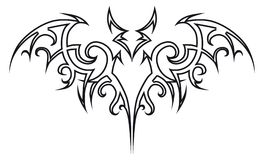 Bastão do tatuagem. ilustração royalty free