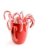 Bastón de caramelo imagen de archivo