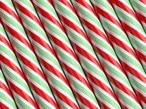 Bastón de caramelo Imagenes de archivo