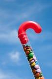 Bastón de caramelo Imágenes de archivo libres de regalías