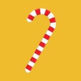 Bastón de caramelo de la Navidad Imagenes de archivo