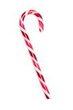 Bastón de caramelo de la Navidad roja y blanca Imágenes de archivo libres de regalías