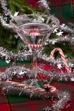 Bastón de caramelo Martini Imágenes de archivo libres de regalías