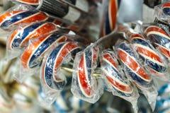 Bastões de doces Imagem de Stock Royalty Free