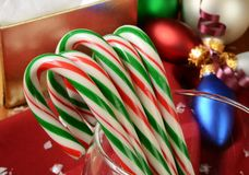Bastões de doces Fotografia de Stock
