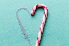 Bastões de doces Fotografia de Stock Royalty Free