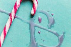 Bastões de doces Fotos de Stock