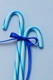 Bastões de doces azuis Foto de Stock Royalty Free