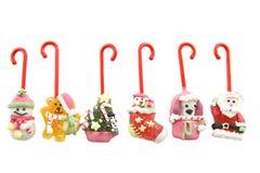 Bastões de doces do Natal Imagens de Stock