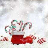 Bastões de doces do Natal Imagem de Stock Royalty Free