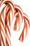 Bastões de doces e doces de hortelã Foto de Stock