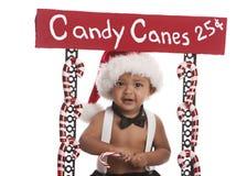 Bastões de doces para a venda Fotos de Stock Royalty Free