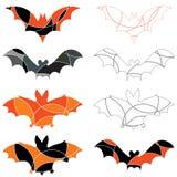 Bastões de Halloween Imagens de Stock