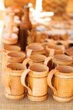 Bast mug Royalty Free Stock Photo