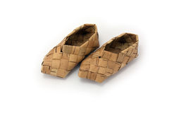 Bast shoe Stock Image
