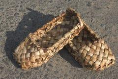 Bast shoe stock photography